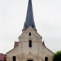 L'église vue de l'ouest (2007)