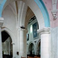 Vue partielle du bras sud du transept vers le nord-ouest (2008)