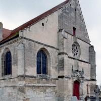 La façade ouest vue depuis le nord-ouest (2007)