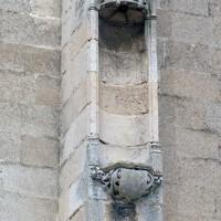 Niche d'un contrefort sud de la nef (2007)