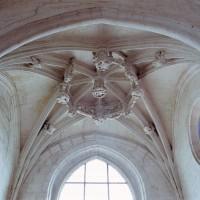 La voûte de la chapelle sud vue vers le sud (2008)