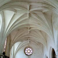 Les voûtes de la nef vues vers l'ouest (2008)