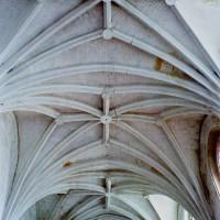 Les voûtes de la nef vues vers l'est (2008)