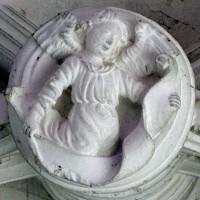 Clef de voûte dans la chapelle sud (2008)