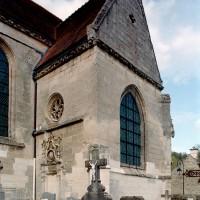 La chapelle sud vue du sud-ouest (2008)
