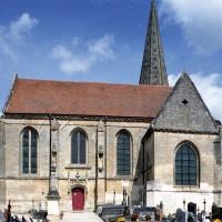 L'église vue du sud (2008)