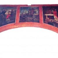 Peinture à l'est de la nef (2005)