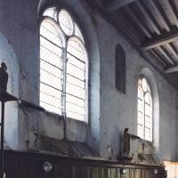 L'intérieur de la nef vu vers le sud-ouest (2004)