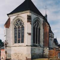Le choeur de l'église vu du nord-est (2003)