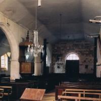 La nef vue vers le sud-ouest (2003)