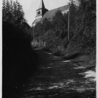 L'église en 1950