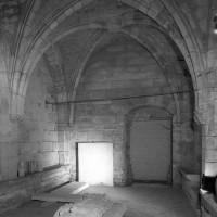 L'intérieur de l'étage inférieur vu vers le nord (1999)