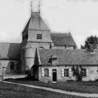 L'église en 1911