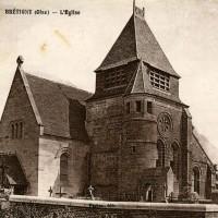 L'église en 1934