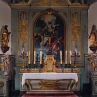 L'autel retable et les boiseries du choeur (2005)
