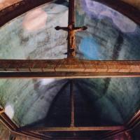 La charpente et la poutre de gloire vues vers l'est (2005)