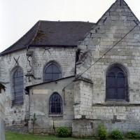 Le choeur et la chapelle vus du nord (2007)