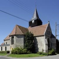 L'église vue du nord-est (2007)