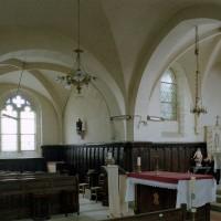 Le choeur et bras nord du transept vus vers le nord-est (2007)