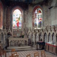 Le transept sud vu vers le sud (2005)