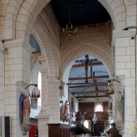La croisée du transept vue vers le sud-ouest (2003)