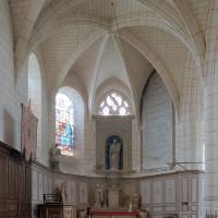 La chapelle de la Madeleine vue vers l'est (2003)