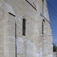 Le choeur du 12ème siècle vu du sud-est (2003)