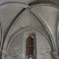 La voûte du choeur du 12ème siècle (2002)