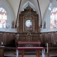 L'autel retable et les boiseries de choeur (2005)