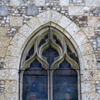 Fenêtre du mur nord de la nef (2005)