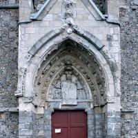 La partie centrale de la façade ouest (2005)