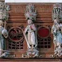 La partie centrale de la balustrade (2005)