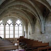 La chapelle vue vers le nord-est (2004)