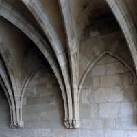 Retombée des voûtes sur le mur est (2004)