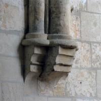 Cul-de-lampe à la retombée des voûtes du choeur (2007)