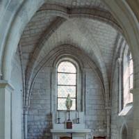 L'intérieur de la chapelle sud vue vers l'est (2007)