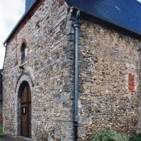 Extrémité ouest de la nef vue du sud-ouest (2005)