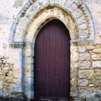 Portail du mur ouest de la nef (2005)