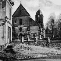 L'église et son environnement pendant la Grande Guerre