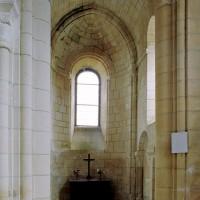 La chapelle sud du choeur vue vers l'est (2007)