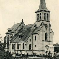 L'église en 1916