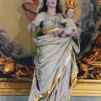 Détail de l'autel-retable (2003)