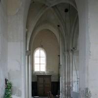 La base du clocher vue vers le sud (2008)