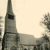 L'église en 1909