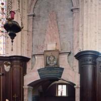 L'entrée de la chapelle de Boufflers (2005)
