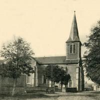 L'église en 1905