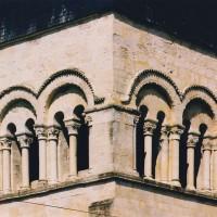 L'étage du beffroi du clocher vu du sud-ouest (2003)