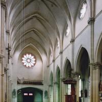 L'intérieur vu vers le nord-ouest (2004)
