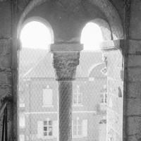 Baie du clocher vue depuis l'intérieur de la tour (1969)