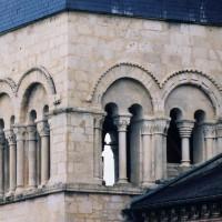 L'étage du beffroi du clocher vu du sud-est (2003)